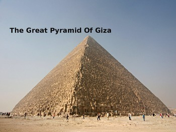 Great Pyramid of Giza Powerpoint