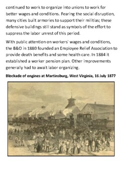 Great Railroad Strike of 1877 Handout