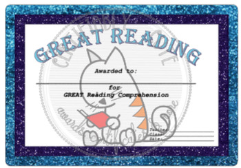 Great Reading Award Set