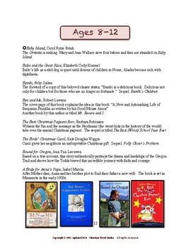 Concise Concepts for Reading:  Great Reading for Girls (Ages 4-12)