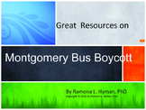 Great Resources on the Montgomery Bus Boycott