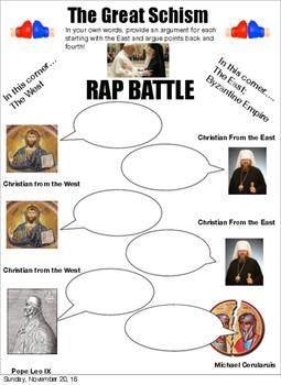 Great Schism Rap Battle