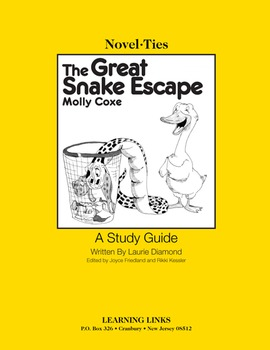 Great Snake Escape - Novel-Ties Study Guide