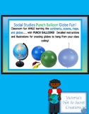 Great Social Studies Lesson  Globe Punch Balloons