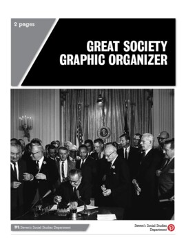 Great Society Graphic Organizer