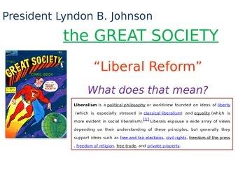 Great Society (Lyndon B. Johnson) PowerPoint Presentation