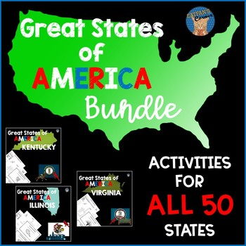 Great States of America BUNDLE