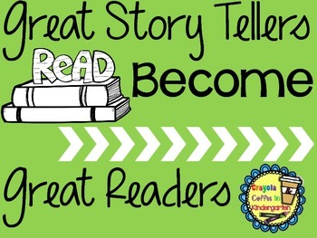 Great Story Tellers Become Great Readers