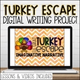 Digital Thanksgiving Google Slides Narrative Writing Promp