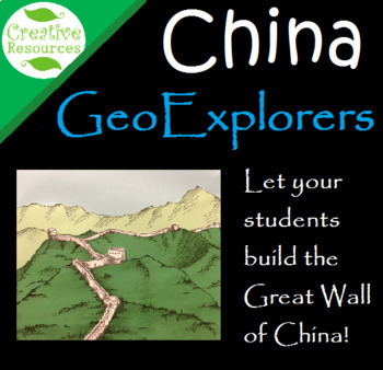 Great Wall of China 3 Dimensional diorama art project