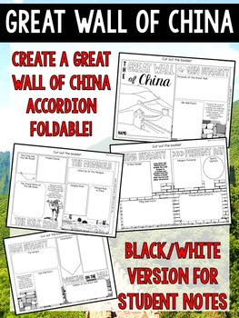 Great Wall of China Accordion Foldable
