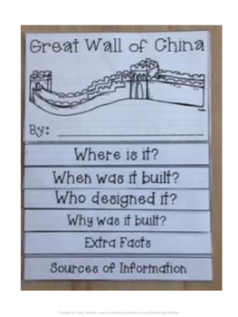 Great Wall of China Flip Book