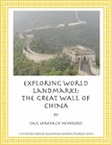 Great Wall of China: Reading Comprehension Pasages and Questions/Activities