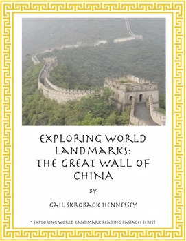 Great Wall of China:Reading Passages and Questions/Activities(Distance Learning)