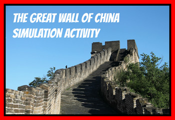 Great Wall of China Simulation Activity