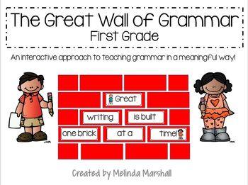 Great Wall of Grammar- First Grade