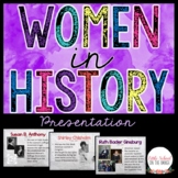 Women's History Presentation * Women's History Month
