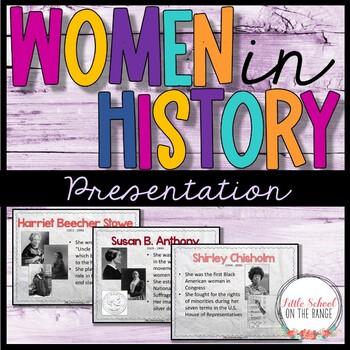 Women's History Presentation * Women's History Month