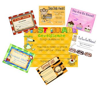 Great Work Certificates Awards