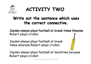 Great at Grammar Teaching Activity Pack 1