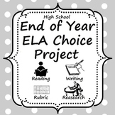 End of Year Research Choice Project (A life saver!)