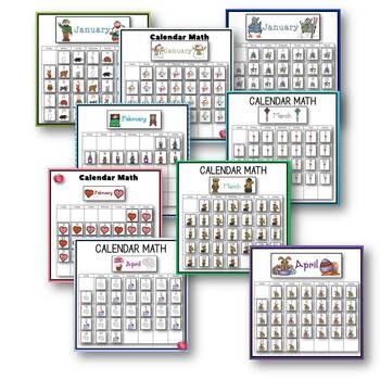 Calendar Math for School Year