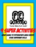Great games to Differentiate Large Groups - Underhand