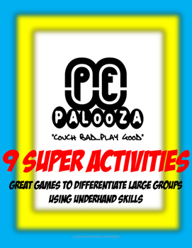 Great games for small groups under hand