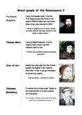 Great people of the Renaissance 2