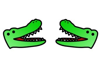 Greater Gator-A Greater Than Less Than Game!