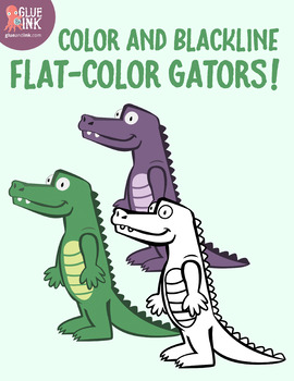 Greater Gator Clip Art (Greater Than / Less Than) – Commercial Use
