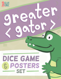 Greater Gator Game & Poster Set – Greater Than Less Than