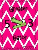 Greater Gator Math Card Game