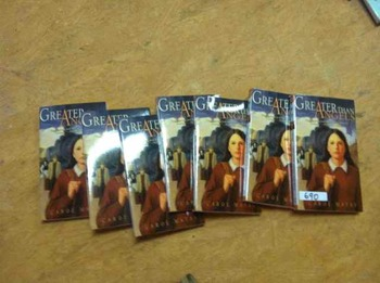 Greater Than Angels - 7 copies for Literature Circles