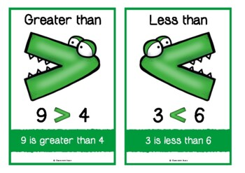Greater Than, Less Than