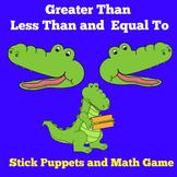 Greater Than Less Than Games | Preschool Kindergarten | Activity