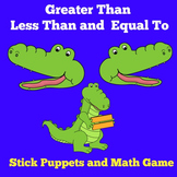 Greater Than Less Than Game | Kindergarten