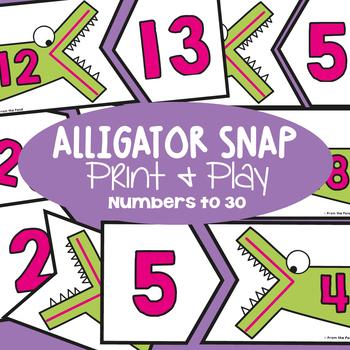 Greater Than / Less Than - Alligator Snap Math Center