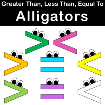 Greater Than Less Than Alligator Teaching Resources | Teachers Pay ...