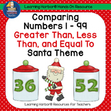 Greater Than Less Than And Equal To With Santa