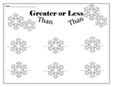 Greater Than Less Than Answer Sheet