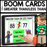 Greater Than Less Than BOOM CARDS