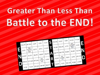 Greater Than Less Than Battle to the End