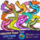 Greater Than, Less Than Clip Art