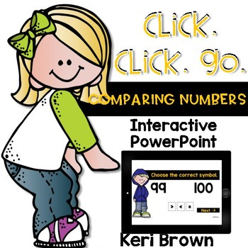 Greater Than Less Than - Comparing Numbers - Click Click Go!
