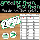 Greater Than Less Than Comparing Numbers to 20 Kindergarten Math Center Activity