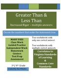 Greater Than Less Than  - Comparing Numbers - VA SOL Common Core