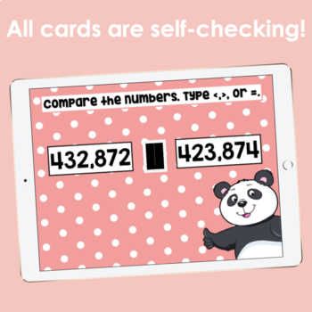 Greater Than / Less Than Digital Task Cards