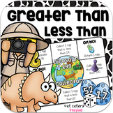 Greater Than Less Than Dinosaur Board Game