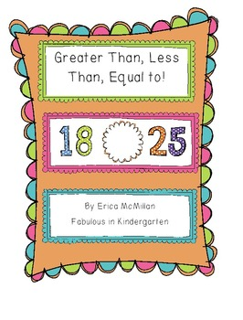 Greater Than, Less Than, Equal To!